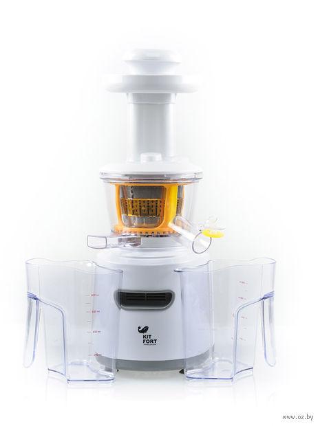Соковыжималка Kitfort KТ-1101-1 (белая) — фото, картинка