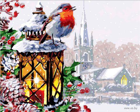 """Картина по номерам """"Рождественская песня"""" (400х500 мм) — фото, картинка"""
