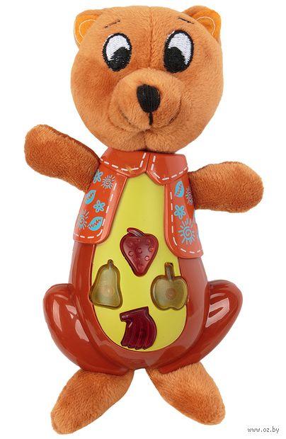 """Музыкальная игрушка """"Медвежонок Берни"""" (со световыми эффектами) — фото, картинка"""