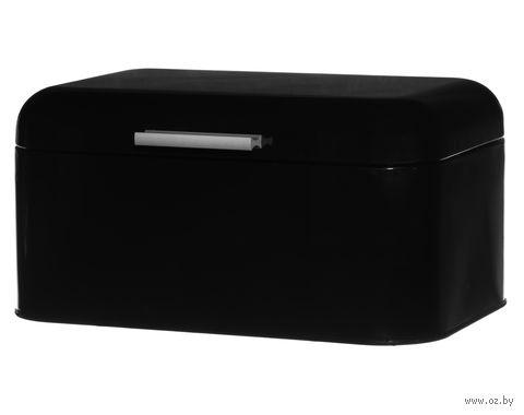 Хлебница металлическая (305х205х150 мм; черная) — фото, картинка
