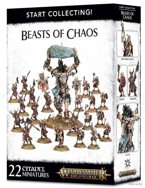 Warhammer Age of Sigmar. Beasts of Chaos. Start Collecting (70-79) — фото, картинка