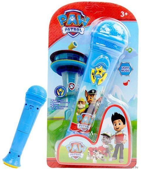 """Музыкальная игрушка """"Микрофон. Щенячий патруль"""" (со световыми эффектами) — фото, картинка"""