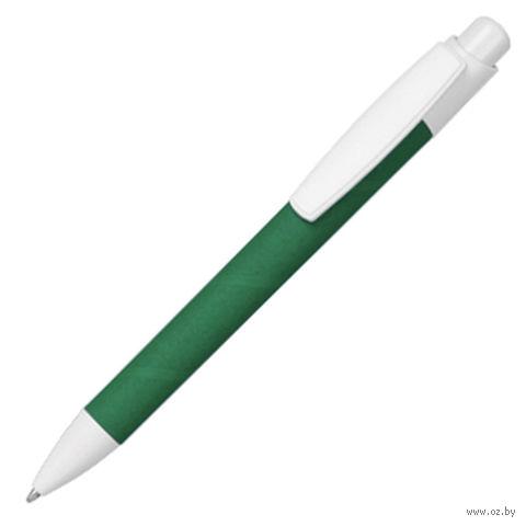 Ручка шариковая, ECO TOUCH (зеленая)