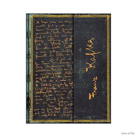 "Записная книжка Paperblanks ""Кафка. Превращение"" в линейку (формат: 130*180 мм, средний)"