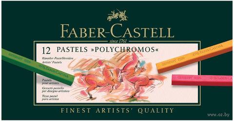 Художественная пастель POLYCHROMOS (12 цветов)