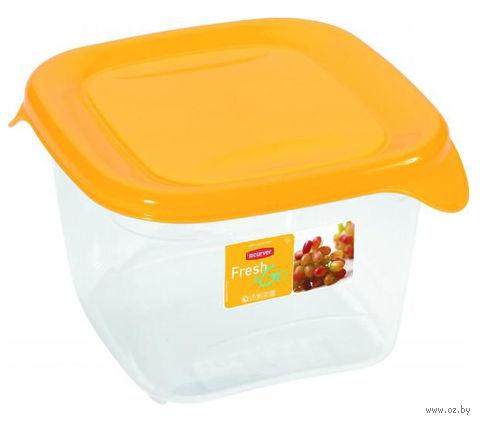 """Контейнер для хранения продуктов """"Fresh&Go"""" (1,2 л; желтый)"""