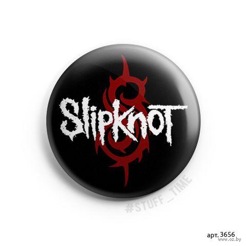 "Значок маленький ""Slipknot"" (арт. 3656) — фото, картинка"