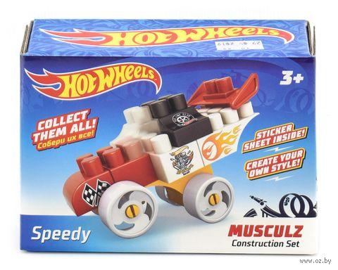 "Конструктор ""Hot wheels. Musculz Speedy"" (16 деталей) — фото, картинка"