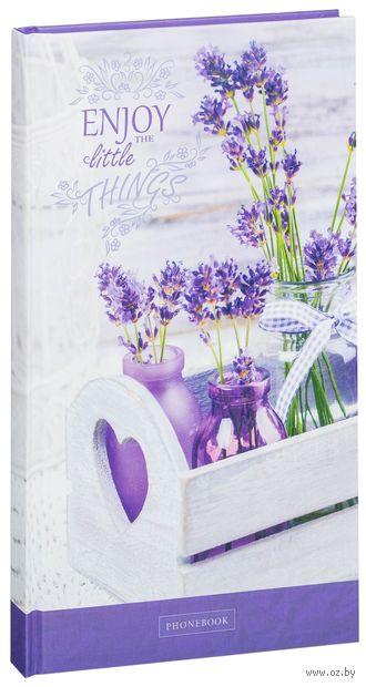 """Алфавитная книга """"Цветы. Little things"""" (А5; 80 листов)"""