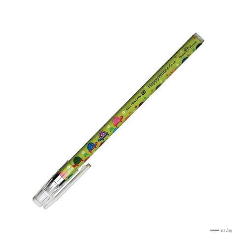 """Ручка шариковая синяя """"Черепашки"""" (0,5 мм) — фото, картинка"""