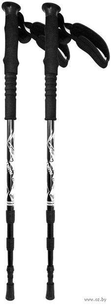Телескопические треккинговые палки (р. 65-135 см; арт. ATP-06 black) — фото, картинка