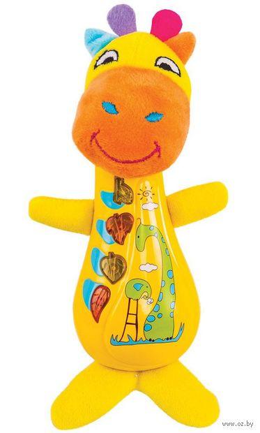 """Музыкальная игрушка """"Жираф Спот"""" (со световыми эффектами) — фото, картинка"""