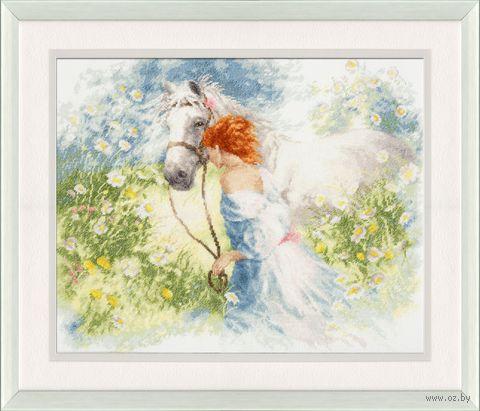 "Вышивка крестом ""Белый сон"" (280x345 мм) — фото, картинка"
