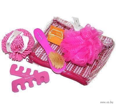Набор для ванной ST6042  Dark Pink