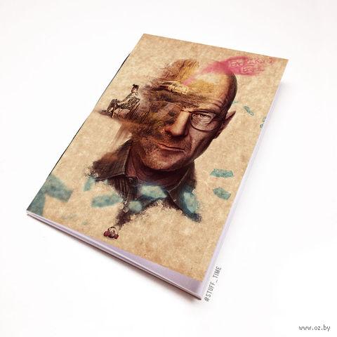 """Блокнот крафт """"Во все тяжкие"""" (А7; арт. 489) — фото, картинка"""