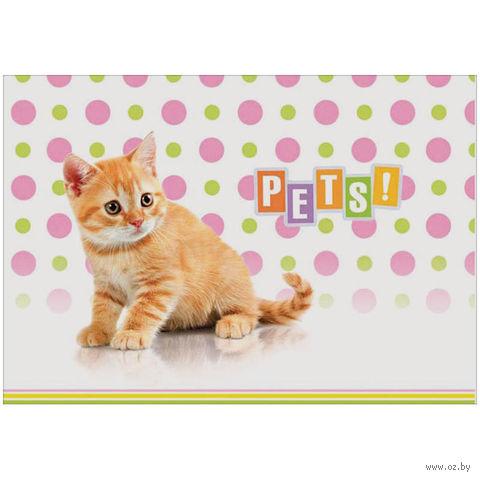 """Альбом для рисования А4 """"Питомцы. Pets!"""" (12 листов)"""
