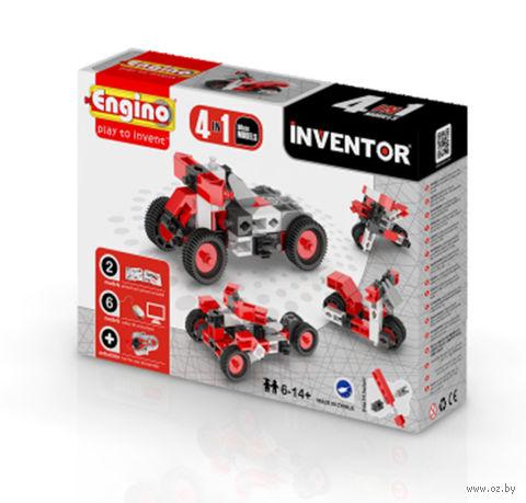 """Конструктор """"Inventor. Мотоцикл"""" (51 деталь)"""