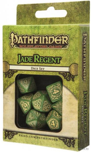 """Набор кубиков """"Pathfinder. Jade Regent"""" (7 шт.) — фото, картинка"""