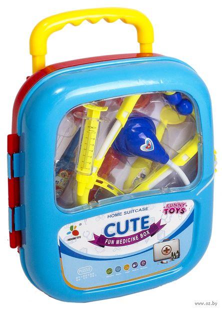 """Набор доктора """"Cute"""" (10 предметов; арт. DV-T-521) — фото, картинка"""
