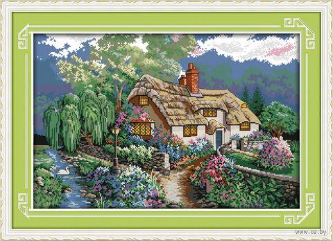 """Вышивка крестом """"Чудный сад"""" (310x470 мм) — фото, картинка"""