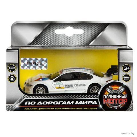"""Модель машины """"BMW M3 DTM"""" (масштаб: 1/42) — фото, картинка"""