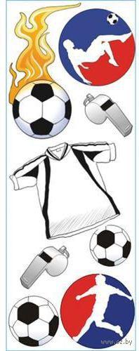 """Стикеры для скрапбукинга """"Джоли. Футбол"""" (арт. EKS-SPJJ181)"""
