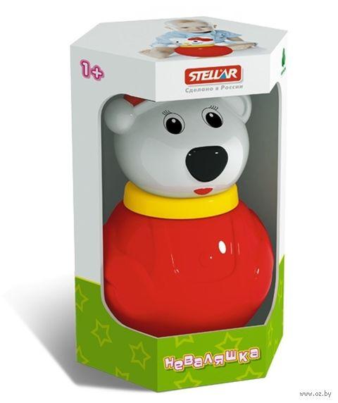 "Неваляшка малая ""Белый Медведь"" (коробка)"