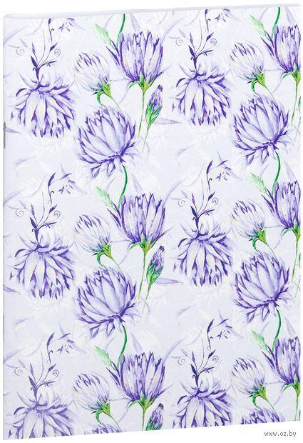 "Блокнот белый ""Цветы"" А5 (951)"