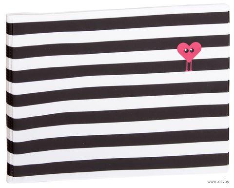 """Обложка для зачетной книжки """"Kawaii Stripes"""" — фото, картинка"""