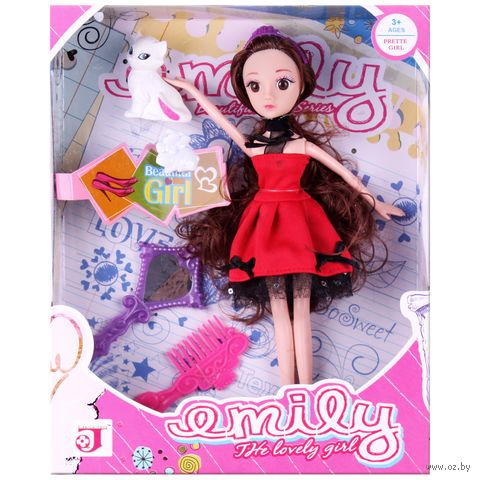 "Кукла ""Эмили"" (арт. DV-T-735) — фото, картинка"