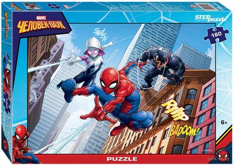 """Пазл """"Человек-паук. Через вселенные"""" (160 элементов) — фото, картинка"""