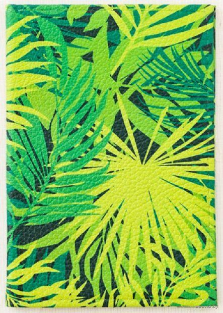 """Обложка на паспорт """"Тропики"""" — фото, картинка"""
