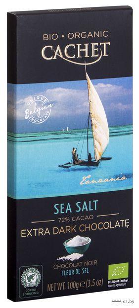 """Шоколад горький """"Organic. C морской солью"""" (100 г) — фото, картинка"""