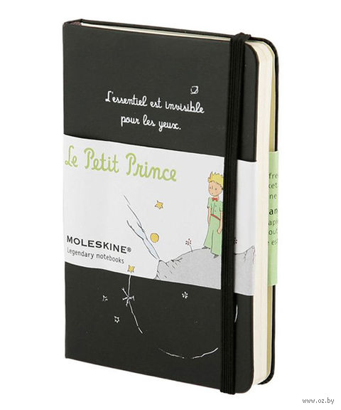 "Записная книжка Молескин ""Le Petit Prince"" (А6; черная)"