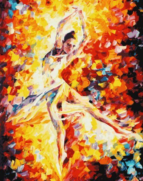 """Картина по номерам """"Огонь свечи"""" (400х500 мм)"""