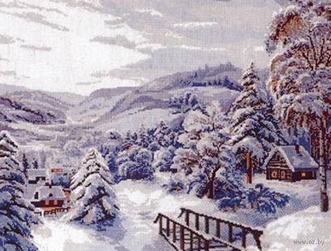 """Вышивка крестом """"Зимушка-зима"""""""