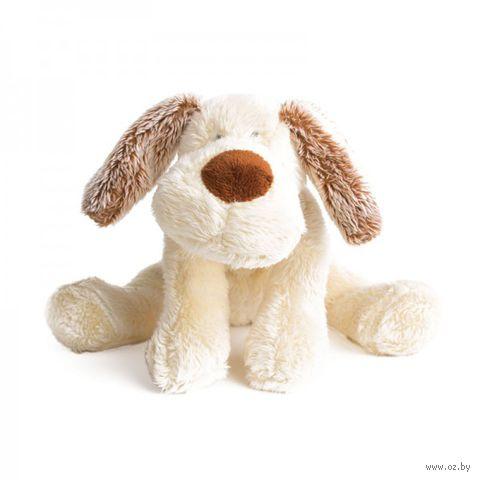"""Мягкая игрушка """"Лежачий щенок Санти"""" (22 см)"""