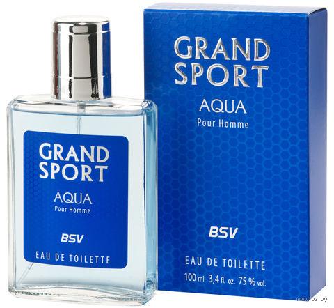 """Туалетная вода для мужчин """"Grand Sport Aqua"""" (100 мл) — фото, картинка"""