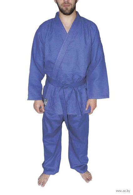 Кимоно для дзюдо AX7 (р.52-54/180; синее) — фото, картинка