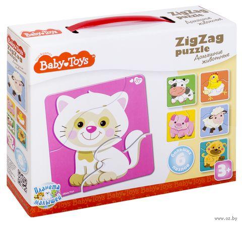 """Набор пазлов """"Baby toys. Домашние животные"""" (18 элементов) — фото, картинка"""