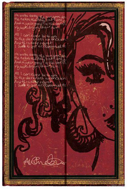 """Записная книжка Paperblanks """"Эми Уайнхаус. Слезы высыхают"""" в линейку (А6)"""