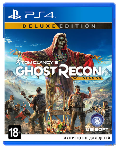 Tom Clancy's Ghost Recon: Wildlands. Deluxe Edition (PS4)