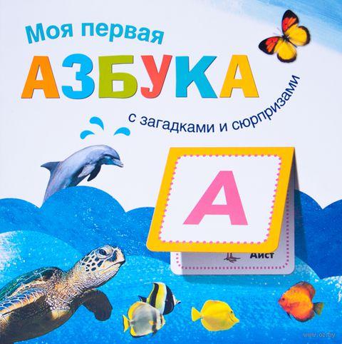 Моя первая азбука. Книжка с загадками и сюрпризами. В. Вилюнова, Наталья Магай