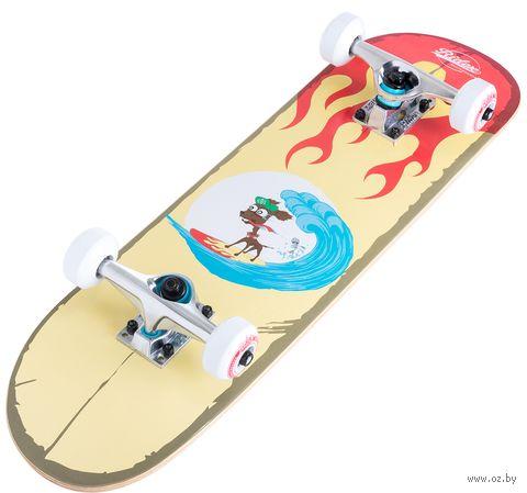 """Скейтборд """"Surf"""" — фото, картинка"""