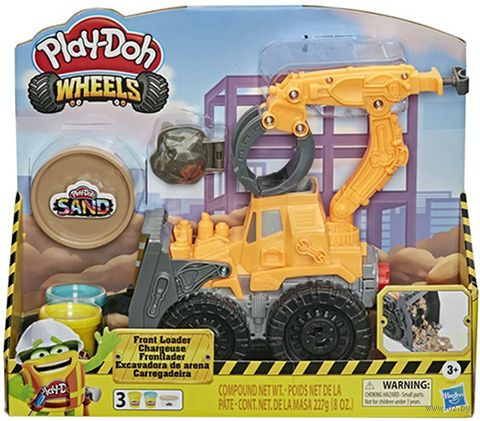 "Набор для лепки ""Play-Doh Wheels. Погрузчик"" — фото, картинка"