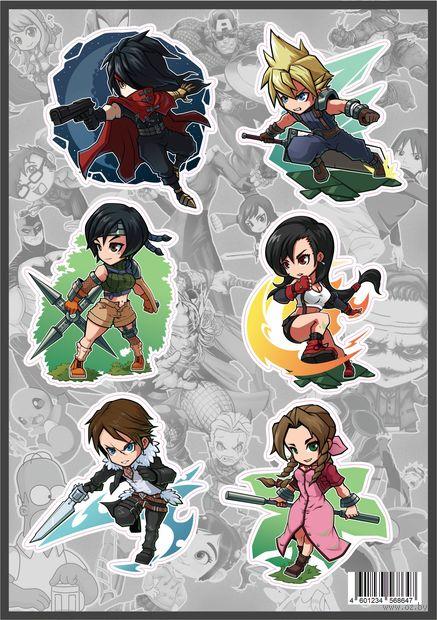 """Набор виниловых наклеек """"Final Fantasy №1"""" — фото, картинка"""