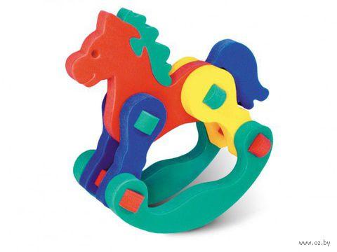 """Развивающая игрушка """"Лошадка-качалка"""""""