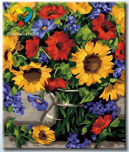"Картина по номерам ""Летний букет"" (500x600 мм; арт. HB5060006)"