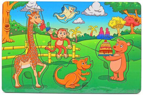 """Рамка-вкладыш """"День рождения в лесу"""" — фото, картинка"""