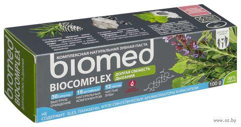 """Зубная паста """"Biocomplex. Антибактериальная"""" (100 г) — фото, картинка"""